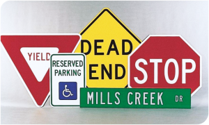 Vulcan Ground Mount Signs