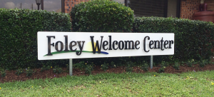 Welcome To Foley Sign