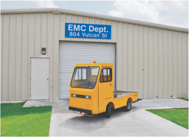 The Vulcan Engineering, Maintenance and Compliance (EMC) Department is located at 804 Vulcan Street.
