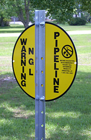 Vulcan Utility Signs - Vulcan Sign Posts