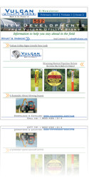 Vulcan Utility Signs - Download Newsletter