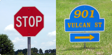 Vulcan Utility Signs - Vulcan Traffic Control Devices