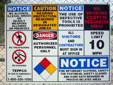 Vulcan Utility Signs - Vulcan Safety Signs
